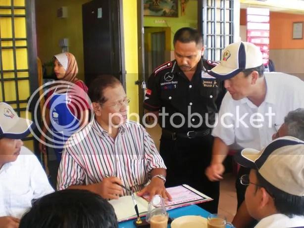 Lawatan MB Johor