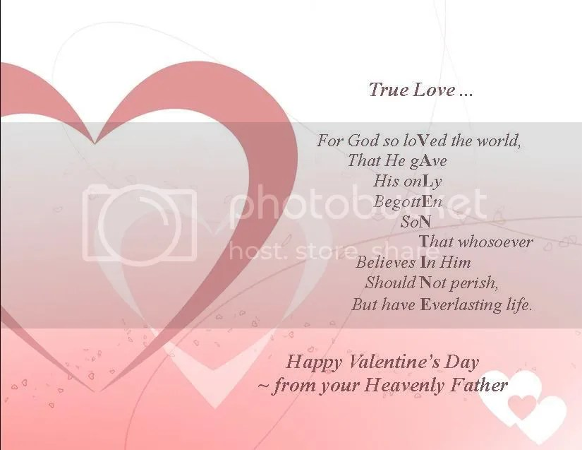 Image result for valentine john 3:16