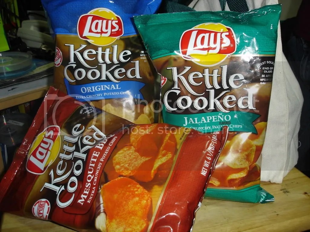 Mmm... Kettle Cooked Potato Chips...