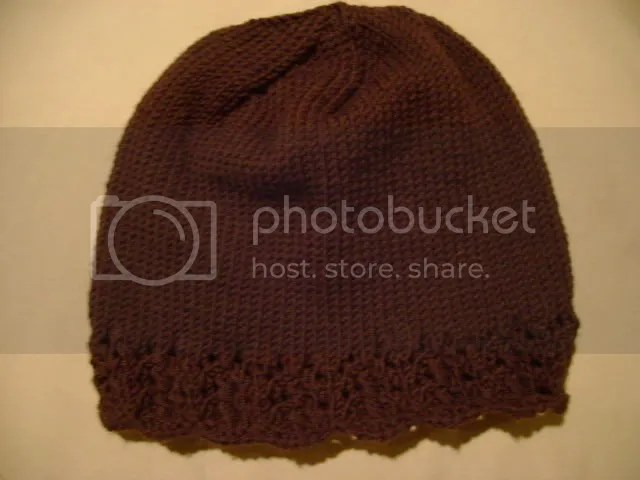 Lace Edged Hat 1