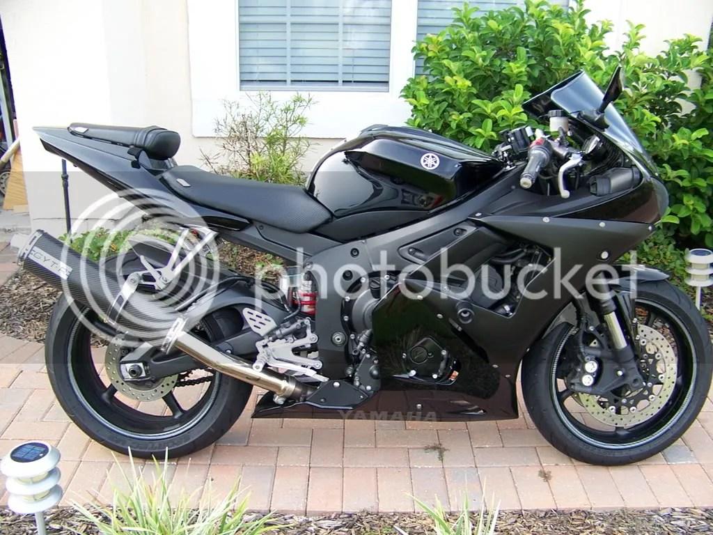 2005 Yamaha R-6 Raven