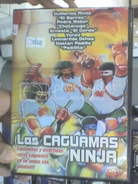 las caguamas ninja