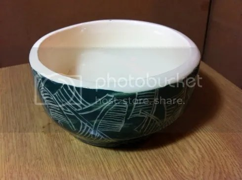 palm frond bowl