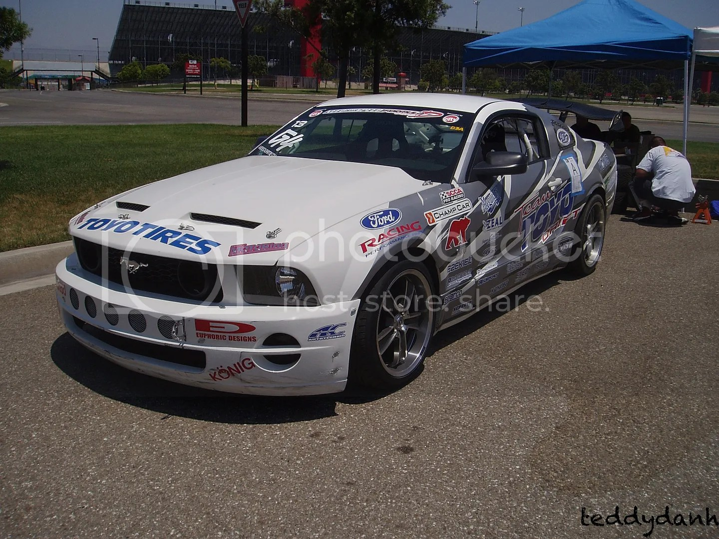 Drift Day 23,Ken Gushi,Mustang