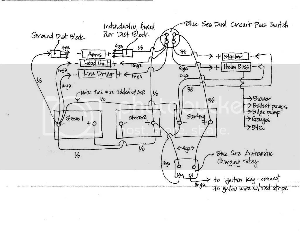 Wiring Diagram For Blue Sea Add A Battery Switch Acr Combo