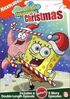 Download de Bob Square Paints Christmas (O Natal de Bob Esponja) [176x144] para celular / to mobile device