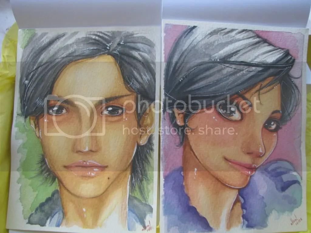 Los retratos!!!! *0*
