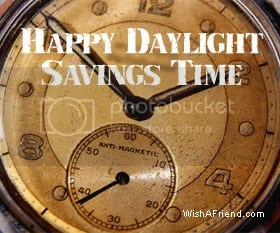 Daylight Savings Time Graphics