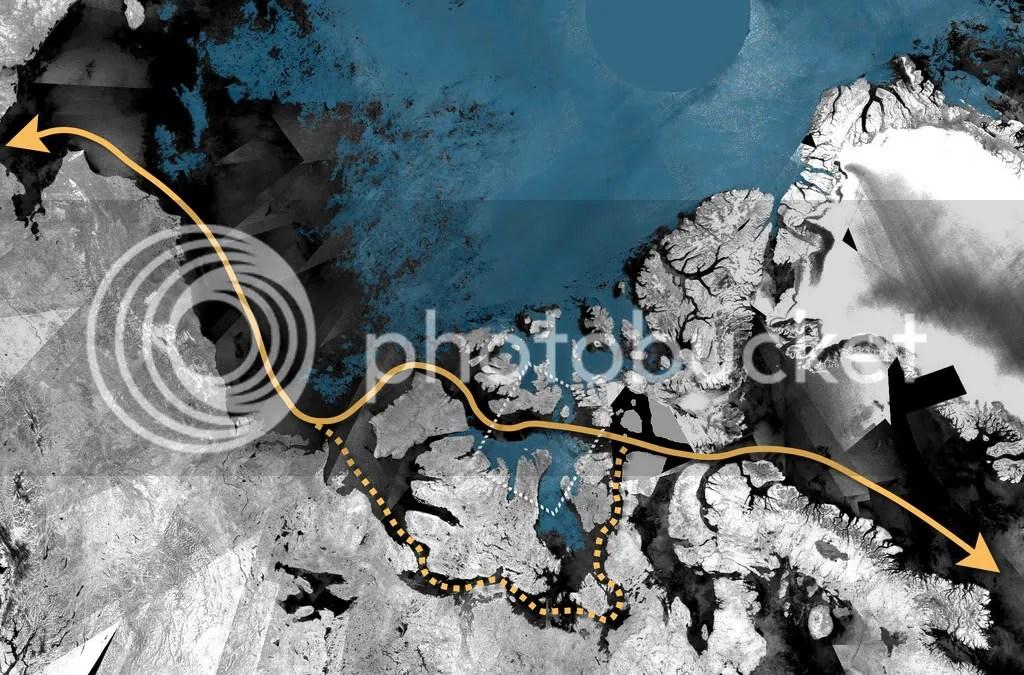 Northwest Passage August 2008