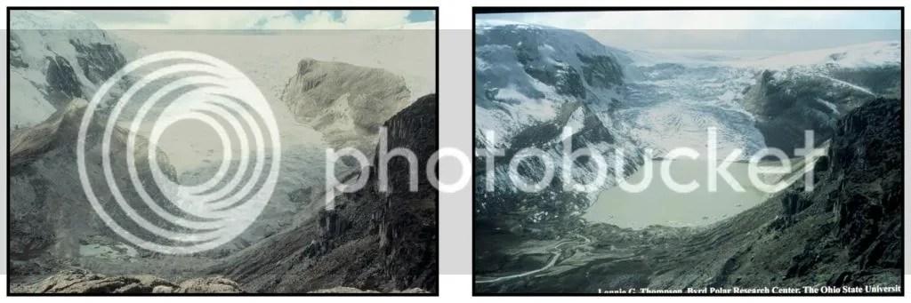 Qori Kalis Glacier 1978-2004