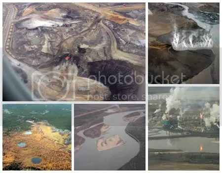 Tar Sands collage