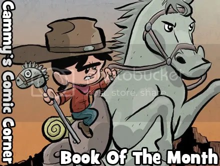 Cammy's Comic Corner – Book Of The Month – Cow Boy