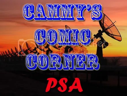 Cammy's Comic Corner – Public Service Announcement