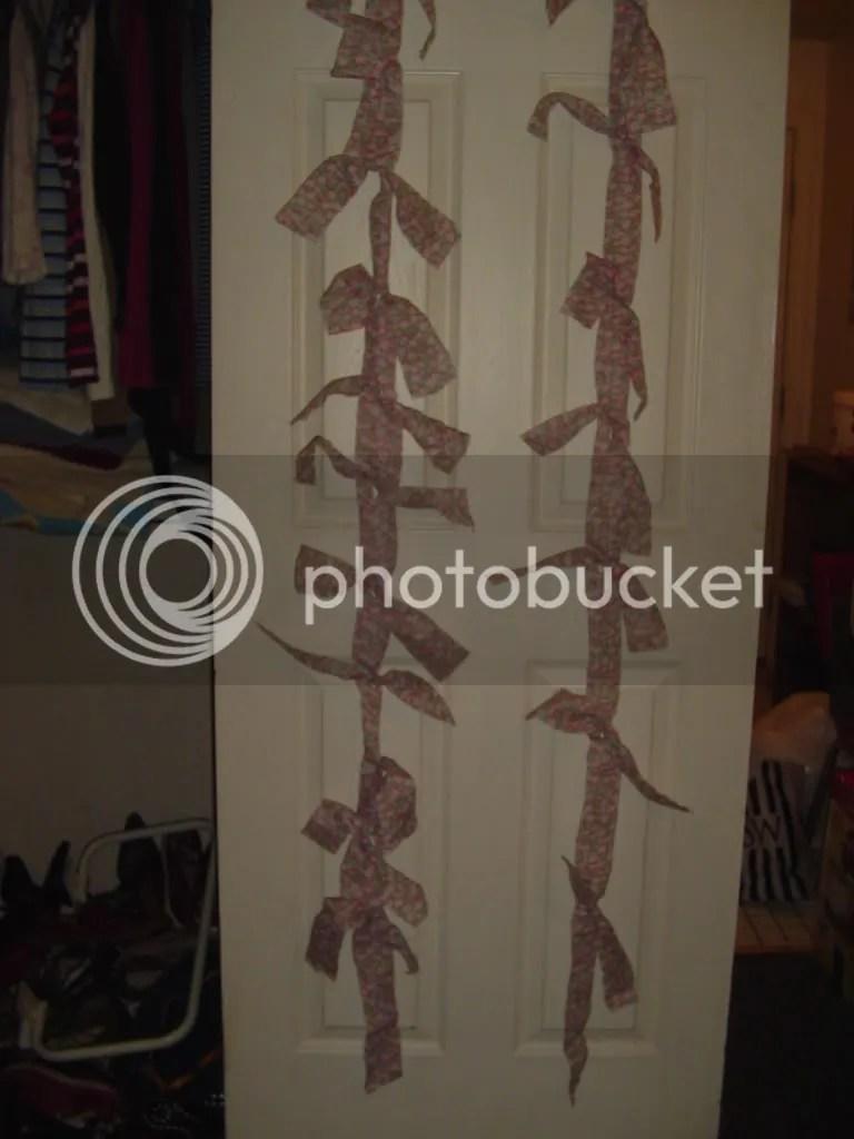 oh no, more messy closet!
