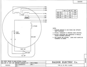 Wiring Questions replacing an import motor with a Baldor