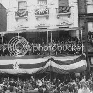 Mardi Gras Day 1950 New Orleans