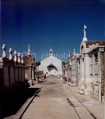 """New Orleans' """"original"""" St. Mary's Church."""