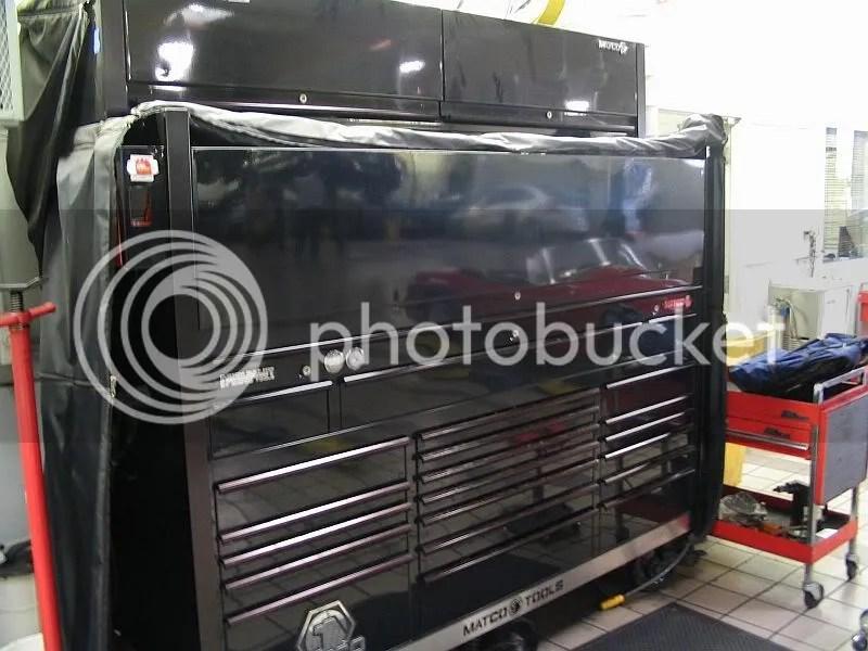 Toolbox Hutch Lighting  snap on tool box tour krl1033 hutch
