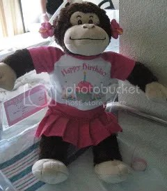 Monkette from Build a Bear