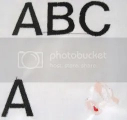 ABCs and part of Mickeys head