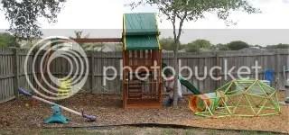 The New Backyard Playground