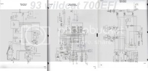 1994 Wildcat 700 EFI Wiring Diagram  Snowmobile Forum