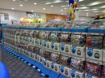 gashapon line in robinsons place ermita
