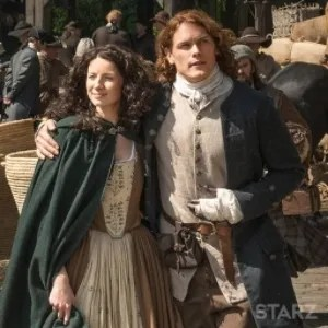 Claire and Jamie in Le Havre