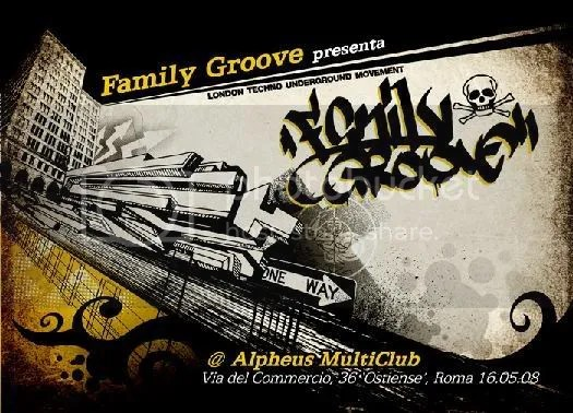 flyer family groove