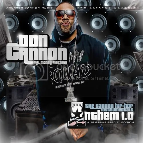 The Cannon Hip-Hop Instrumentals - Front Cover