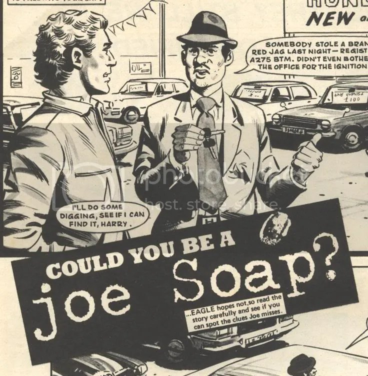 Image result for joe soap