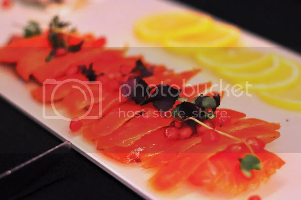 Marinated Ocean Trout.