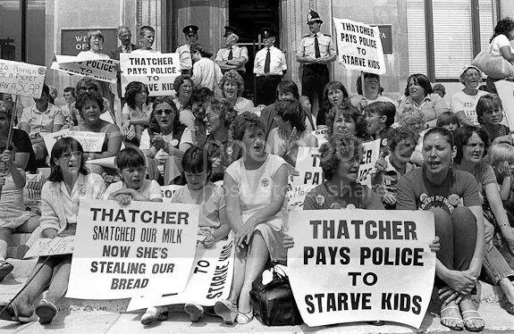 Image result for thatcher banning milk from schools