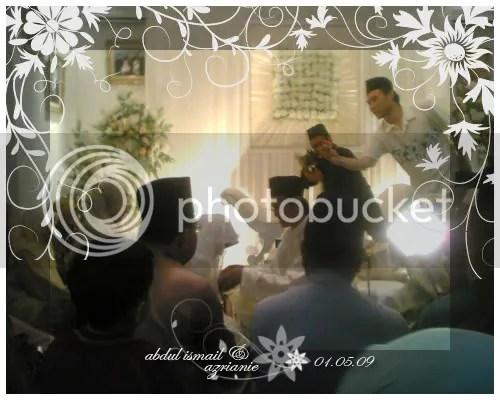 Majlis Akad Nikah - Abdul Ismail & Azrianie
