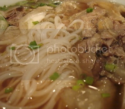 pho hoa noodle soup (small)