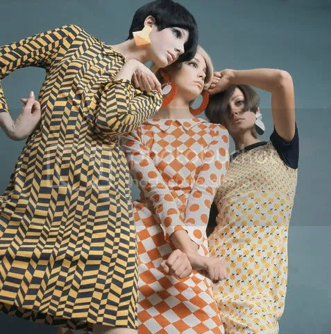 1960s mod girls