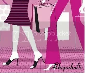 shoes and shopping bags