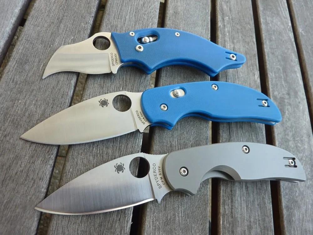 Spyderco Sage 3 The Blue Brother by Nemo Sandman