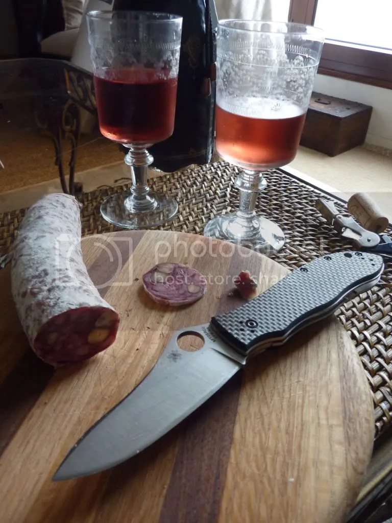 Cpm M4 blade and sausage
