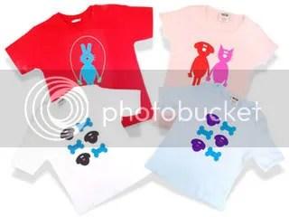 Arabella Miller Organic T-shirts