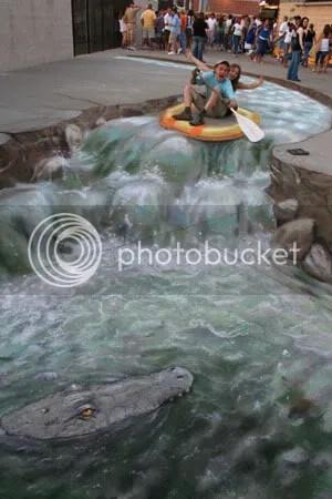 rafting.jpg Julian Beever 2 image Chrysalide_album