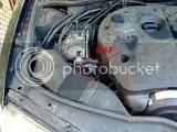 VW Passat MAF location locatie