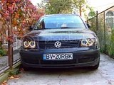 VW Passat demontare faruri Angel Eyes
