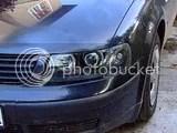 VW Passat Angel Eyes faruri 3