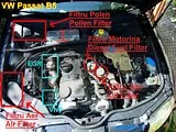 VW Passat B5, filtre Air, aer, motorina, fuel, polen, pollen, oil, ulei, filter, filtre, localizare, location