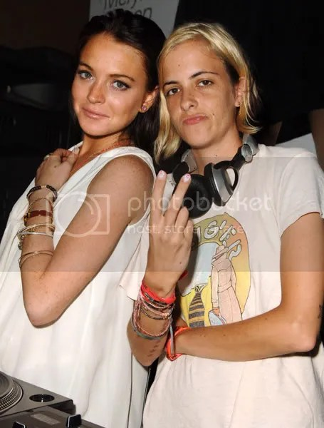 samantha ronson lindsay lohan Pictures, Images and Photos