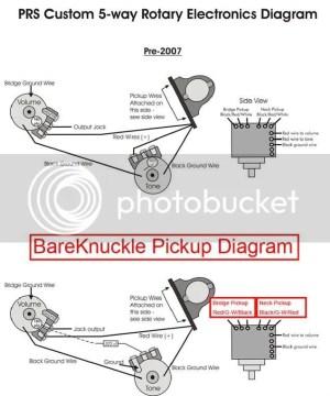BareKnuckle  PRS Wiring Diagram Photo by clund69