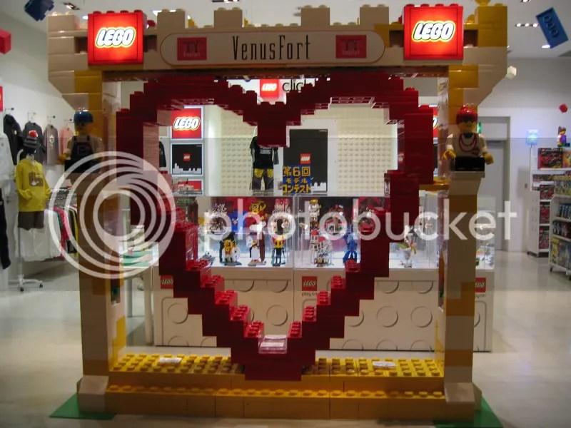 Odaiba - Lego im Venus Fort