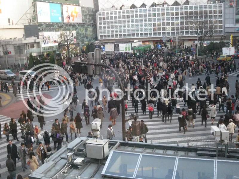 Kreuzung in Shibuya