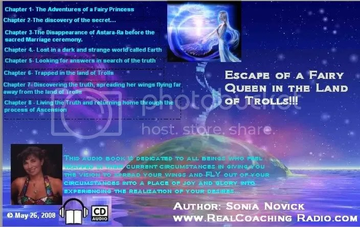 Book Cover for Escape of a Fairy Queen in the Land of Trolls!!!
